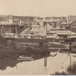 S.S. Brundah at Lismore Wharf c. 1906-1914
